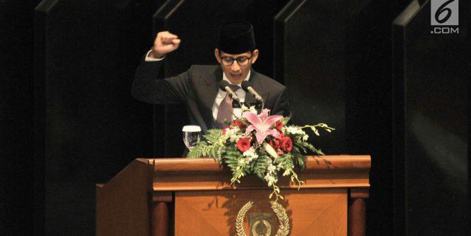 Sandiaga Uno: SBY Bapak Bangsa, Kita Layak Berterimakasih